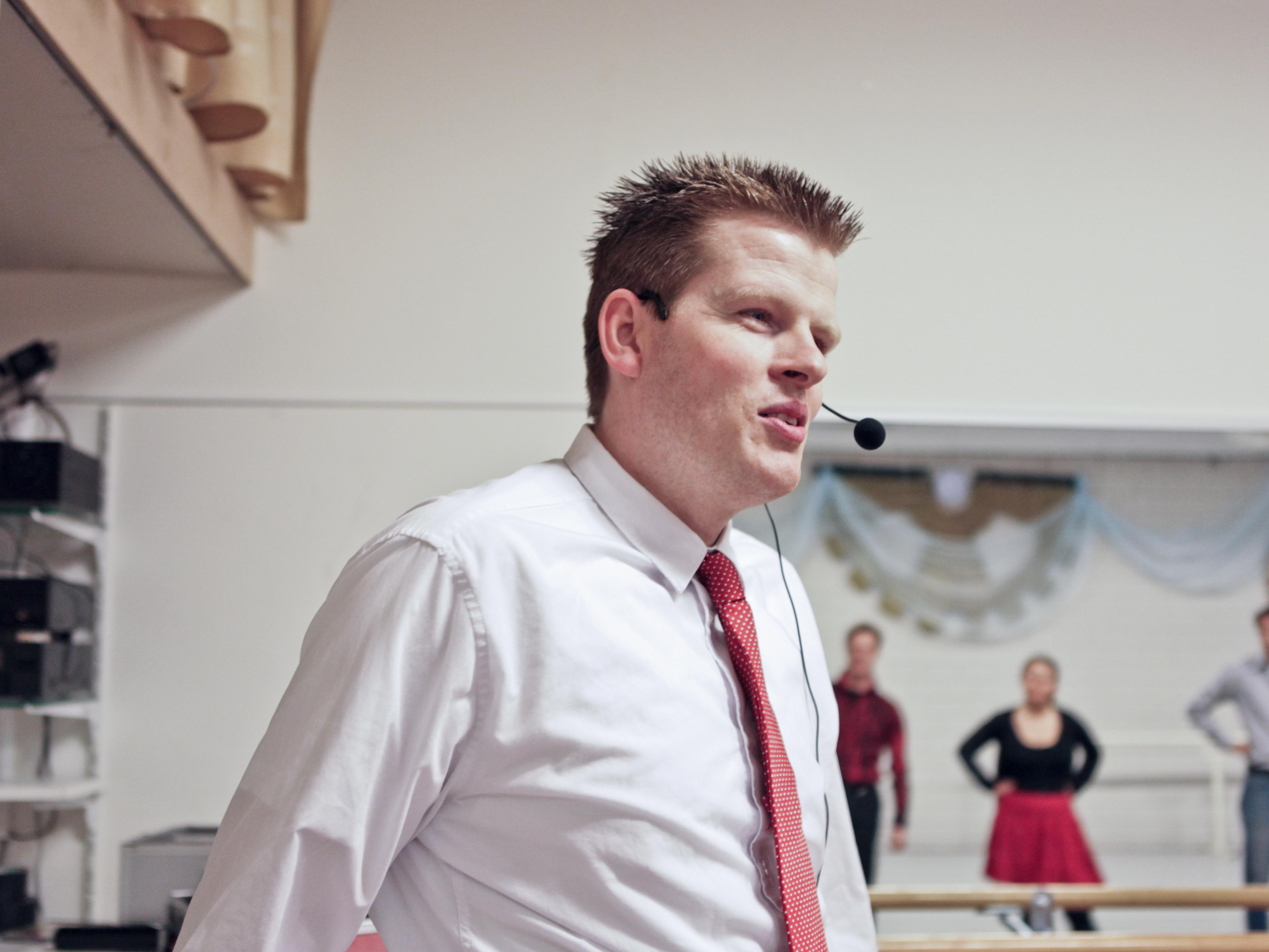 Dansleraar Ben van Zundert
