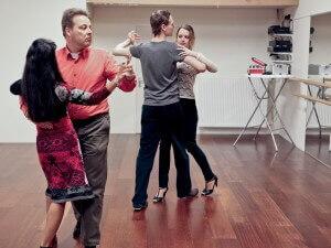 Dansles voor stellen